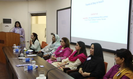 International Women's Day at Institute of Administrative Sciences in collaboration with HR Legends followed by a 'Go Green' Drive