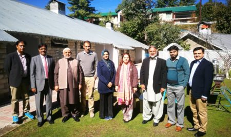 Commemorative Plaque and tree planting ceremony at Khanspur Ayubia in dedication of Professor Dr. Muhammad Afzal (late)