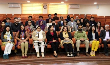 One Day Workshop on Managing Workplace Challenges and Issues of Harassment by HRDC- IAS PU